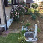 施工前水栓柱